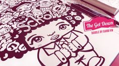 The Get Down - How To Draw Kawaii Doodles by Garbi KW