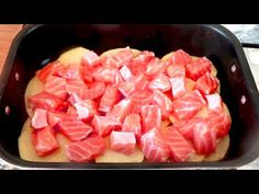 All in one pot, fast special lunch # 134 Fish Dishes, Main Dishes, Italian Cooking, One Pot, Salmon Recipes, 3 Ingredients, Entrees, Seafood, Cooking Recipes