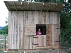 shed/barn- love the door