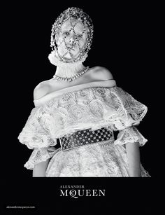 Alexander McQueen Fall Winter 2013 Ad Campaign | Art8amby's Blog #elizabethan beauty
