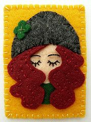 DOLL FELT -- This is you Debbie