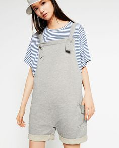 Image 1 of PLUSH DUNGAREES from Zara