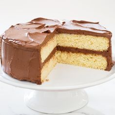 A good yellow layer cake should melt in the mouth and taste of butter and vanilla.