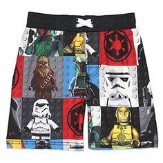 Disney Store Star Wars Swim Shorts Trunks Kylo Ren Stormtroopers Boys 9//10 New
