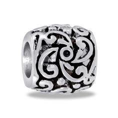 DaVinci Beads Black And Swirl Sunburst Jewelry