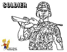 brawny army printables free army coloring pages boys.html