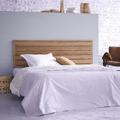 Tête de lit en bois de teck 165 Minimalys