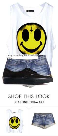 """""""Untitled #681"""" by harry-styles-lover123 ❤ liked on Polyvore featuring Big Star and Vans"""