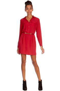 Red dress - Oasis