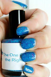 Smitten Polish The One on the Right #beauty #nailpolish #glitter