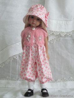 13-Effner-Little-Darling-BJD-pink-white-rompers-set-OOAK-handmade-set-by-JEC