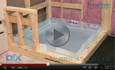 Shower Pan Liner Installation Kits, Bathroom Fixtures | Dix Systems