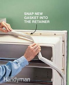 We'll show you how to replace your refrigerator door gasket in three easy steps. A new gasket will help your refrigerator run more efficiently, which will save you money. So replacing a worn out gasket will pay for itself over time.
