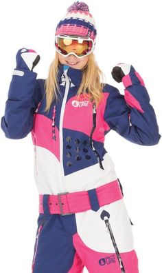 New Rare Picture Organic Appolo Womens One Piece Snow Suit Small Ski Snowboard #PictureOrganic