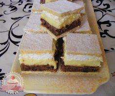 Jugó krémes Sweet Cookies, Cake Cookies, Pie Cake, No Bake Cake, Hungarian Cookies, European Dishes, Torte Recepti, Hungarian Recipes, Hungarian Food
