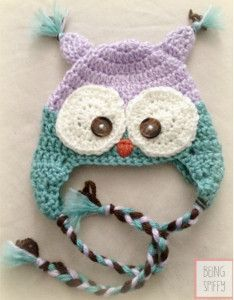 Unforgettable Owl Newborn Crochet Hat - Use this baby beanie crochet pattern for a fantastic photo shoot.