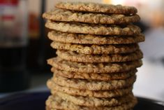 Crispy Oatmeal Cookies - these are delicious! I added chocolate chips and bit of peanut butter -- YUM!