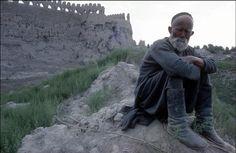 Burt Glinn 2 1963 Shepherd in Samarkand, Uzbekistan at the old city walls.