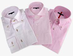 pink dress shirts