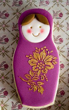 Galletas de muniecas rusas de Alma Obregon