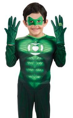 Green Lantern Child's Gloves Costume Accessory * For more information, visit image link.