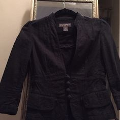 Jacket Black banana republic jacket, classy look can wear with a dress or dress down with jeans. Banana Republic Jackets & Coats Blazers