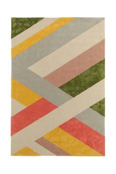 10 tapis graphiques : Tapis Laminae I, Jeff Leatham, collection Bloom (Tai Ping)