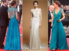 Kate Middleton - Teal Packham Gown, Olympic Gala
