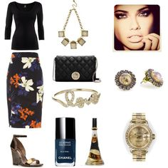 Classic..., created by threadinducedeuphoria on Polyvore