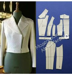 Tremendous Sewing Make Your Own Clothes Ideas. Prodigious Sewing Make Your Own Clothes Ideas. Coat Patterns, Dress Sewing Patterns, Clothing Patterns, Blazer Pattern, Jacket Pattern, Fashion Sewing, Diy Fashion, Pattern Draping, Sewing Blouses