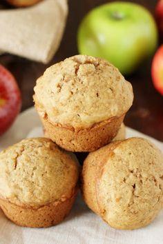Applesauce Muffins ~ our family-favorite muffin! www.thekitchenismyplayground.com