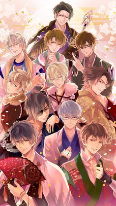 Ikemen Sengoku, Cybird's latest mobile otome. It has some amazing seiyuu work and this game is my current obsession!