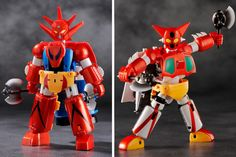 'Getter Robo' And 'Getter Robo G' Combining Action Figure Sets Coming This Spring From FREEing