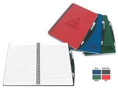PCA 3161 NOTEBOOK Choose from our 4 colors cover notebooks. These practical small notebooks feature 80 rule sheets and a comfortable black and silver pen. Notebooks, Journals, Silver Pen, Small Notebook, Colors, Black, Day Planners, Products, Magazines