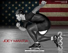 joey mantia with wheels and blade