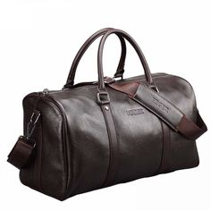 Genuine leather weekend duffel bag - Golfer Travel Bag New arrival Genuine Leather the Extra large weekend duffel bag for your Golf travel. Business men's travel bag with a popular design. Mens Travel Bag, Duffle Bag Travel, Travel Bags, Duffel Bags, Cheap Travel, Messenger Bags, Travel Luggage, Suit Supply, Leather Duffle Bag