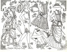 little-rose-paper-doll