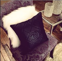 LuxeDHome custom Chanel pillow