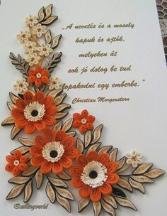 I will need to translate the quote Paper Quilling Cards, Arte Quilling, Quilling Comb, Paper Quilling Flowers, Paper Quilling Patterns, Quilling Craft, Quilled Roses, Paper Art, Paper Crafts