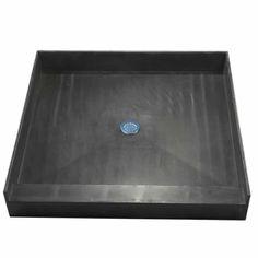 The Best Tile-Ready Shower Pans Shower Base, Diy Shower, Custom Shower, Tile Ready Shower Pan, Bathroom Shower Doors, Bathroom Ideas, Modern Bathroom, Master Bathroom, Basement Bathroom