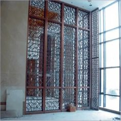 Modern Design Laser Cut Partition Screen Restaurant Wall Panel Screen Marble Screen - China Metal Screen and Room Divider price | Made-in-China.com Folding Partition, Folding Screen Room Divider, Metal Room Divider, Partition Screen, Room Divider Walls, Room Screen, Room Dividers, Stainless Steel Sheet Metal, Stainless Steel Screen