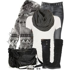 """""""Cozy Winter Scarf"""" by immacherry on Polyvore"""