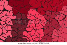 Red stones. Grunge texture. Vector abstract background.