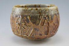 "Simon Van Der Ven | Matinicus teabowl (3.25x4.75""), made of granite-infused stoneware."