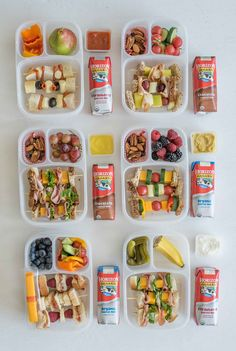 """6 easy """"Sandwich-on-a-Stick"""" Lunch Box Ideas are perfect to take to school or work and are a fun twist on all of your favorite classic sandwiches. kids lunch 6 Sandwich-on-a-Stick Lunch Box Ideas Healthy Lunches For Kids, Lunch Snacks, Clean Eating Snacks, Lunch Recipes, Baby Food Recipes, Kids Meals, Work Lunches, Sandwich Recipes, Snack Box"""