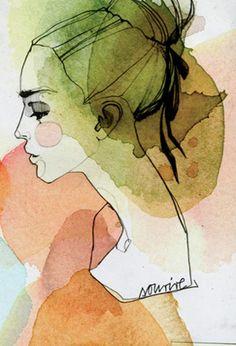 By Ekaterina Koroleva, a Berlin based illustrator and artist.