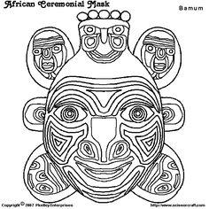 Kleurplaten Maskers Afrika.103 Beste Afbeeldingen Van Afrika African Theme Africa En African Art