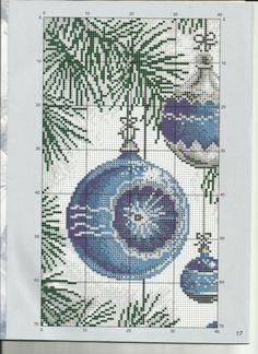 Gallery.ru / Фото #2 - 22 - lilifurman Cross Stitch Gallery, Cross Stitch Tree, Cross Stitch Designs, Cross Stitch Patterns, Christmas Cross, All Things Christmas, Xmas, Diy And Crafts, Arts And Crafts