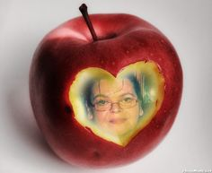 Awesome Pic Created by PhotoMontager.com Apple Bite, My Boo, Fruit, Create, Awesome, Sweet, Robert Carlyle, Bobby, Mad