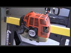 Easy Repair on STIHL FS38 Grass Trimmer - Clogged Spark Arrester - YouTube